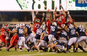 NCAA Football: Brigham Young at Utah