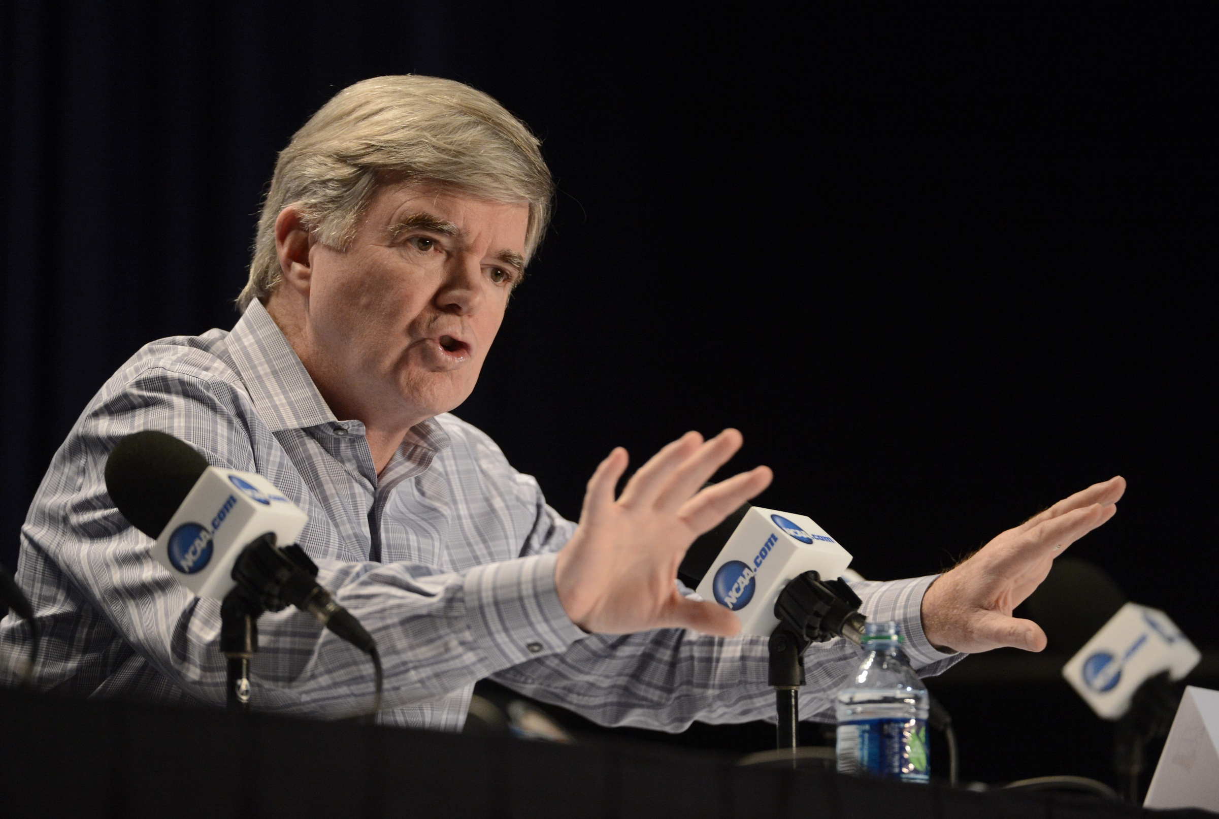 NCAA President Mark Emmert. Robert Deutsch-USA TODAY Sports