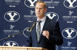 BYU Athletic Director Tom Holmoe (Photo: Kylea Knecht, BYU)