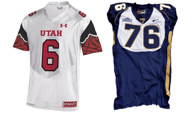 super popular f5d6a 60aaa Sorry, Utes: Utah's 2014 football uniforms rival the BYU bib ...